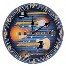 "Horloge ""Guitares Rock and roll"""